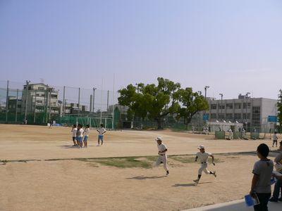 北野高 校庭