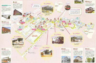 京都女子大 キャンパスマップ