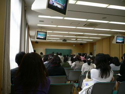 大谷中 入試分析会の様子