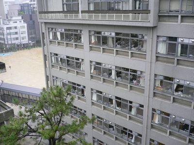 大手前高 7階からの眺め①