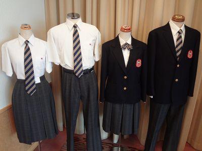 箕面学園高等学校制服画像