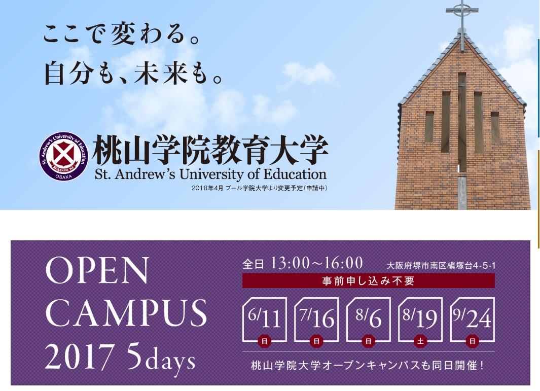 教育 桃山 大学 学院